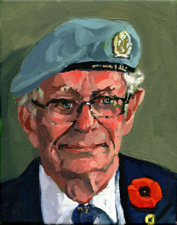 Completed portrait Michael P. Seitz